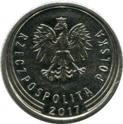 Moneta > 50grašių, 2017-2019 - Lenkija  - obverse