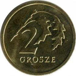 Coin > 2grosze, 2017-2019 - Poland  - reverse