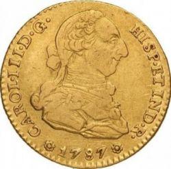 Moneta > 2escudo, 1786-1788 - Hiszpania  - obverse