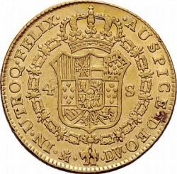 Moneta > 4eskudo, 1772-1785 - Hiszpania  - reverse