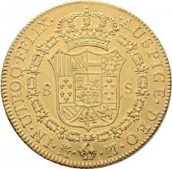 Moneta > 8escudo, 1771-1784 - Hiszpania  - reverse