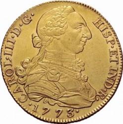 Moneta > 8escudo, 1771-1784 - Hiszpania  - obverse