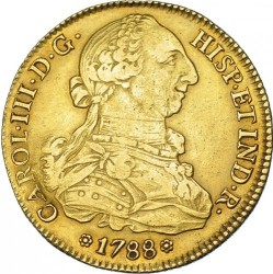 Moneta > 8escudo, 1786-1788 - Hiszpania  - obverse
