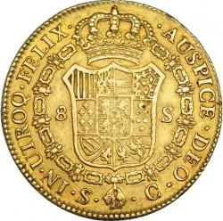 Moneta > 8escudo, 1786-1788 - Hiszpania  - reverse