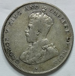 Moneta > 50centų, 1920 - Ceilonas  - obverse