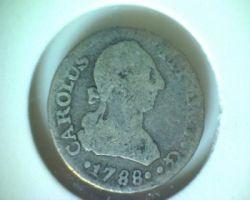 Moneta > ½reala, 1772-1788 - Hiszpania  - obverse