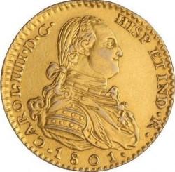 Mynt > 2escudos, 1788-1808 - Spanien  - obverse