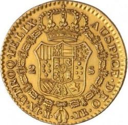 Mynt > 2escudos, 1788-1808 - Spanien  - reverse