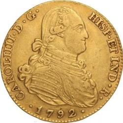 Moneta > 4eskudo, 1788-1808 - Hiszpania  - obverse