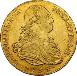 Кованица > 4ескудоа, 1788-1808 - Шпанија  - obverse