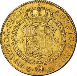 Кованица > 4ескудоа, 1788-1808 - Шпанија  - reverse