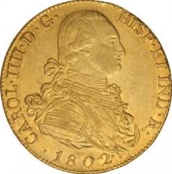 Moneta > 8escudo, 1788-1805 - Hiszpania  - obverse