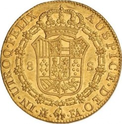 Moneta > 8escudo, 1788-1805 - Hiszpania  - reverse