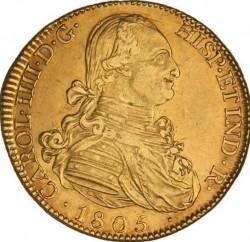سکه > 8اسکودو, 1788-1805 - اسپانیا  - obverse