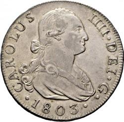 Кованица > 8реала, 1788-1808 - Шпанија  - obverse