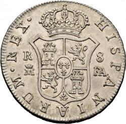Кованица > 8реала, 1788-1808 - Шпанија  - reverse