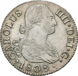 Pièce > 2reals, 1788-1808 - Espagne  - obverse