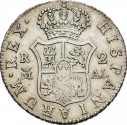 Pièce > 2reals, 1788-1808 - Espagne  - reverse