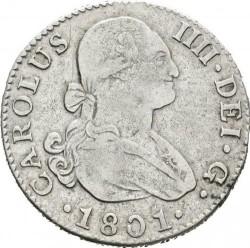 მონეტა > 2რეალი, 1788-1808 - ესპანეთი  - obverse