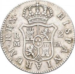 Moneda > 2reales, 1788-1808 - España  - reverse