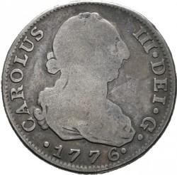 Moneta > 4reale, 1772-1788 - Hiszpania  - obverse