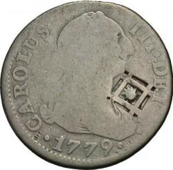 Монета > 2реала, 1772-1788 - Испания  - obverse