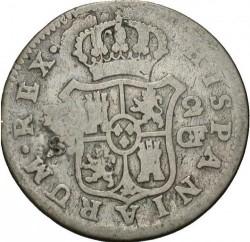 Монета > 2реала, 1772-1788 - Испания  - reverse