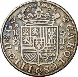 Moneta > 4reale, 1760-1761 - Hiszpania  - obverse