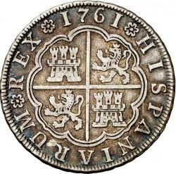 Moneta > 4reale, 1760-1761 - Hiszpania  - reverse
