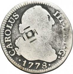 Moneta > 2reale, 1772-1788 - Hiszpania  - obverse