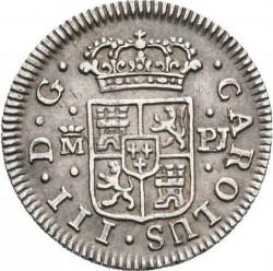 Moneta > ½reala, 1760-1771 - Hiszpania  - obverse