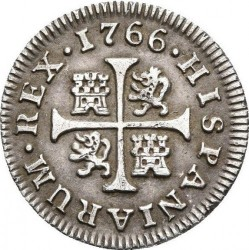 Moneta > ½reala, 1760-1771 - Hiszpania  - reverse