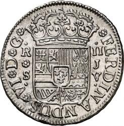 Moneta > 2reale, 1754-1759 - Hiszpania  - obverse