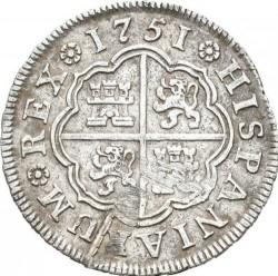 Moneta > 1real, 1746-1759 - Hiszpania  - reverse