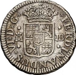 Moneta > ½reala, 1746-1759 - Hiszpania  - obverse