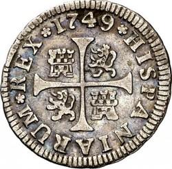 Moneta > ½reala, 1746-1759 - Hiszpania  - reverse