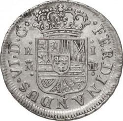 Moneta > 1real, 1746-1759 - Hiszpania  - obverse
