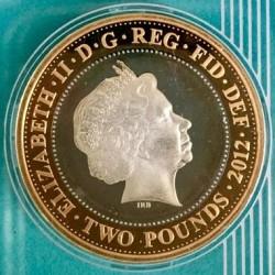 Moneta > 2funty, 2012 - Wielka Brytania  (Przekazanie organizacji Igrzysk Olimpijskich do Rio) - obverse