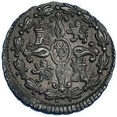 Монета > 2мараведи, 1788-1808 - Испания  - reverse