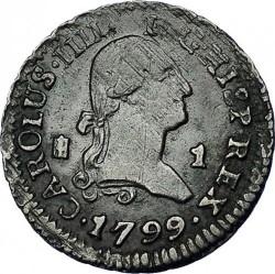 Кованица > 1maravedi, 1788-1802 - Шпанија  - obverse