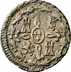 錢幣 > 2馬拉維第, 1788-1808 - 西班牙  - reverse
