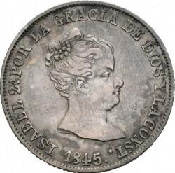 Münze > 4Reales, 1837-1849 - Spanien  - obverse