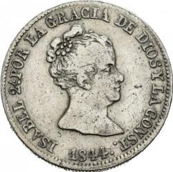 Moneta > 4reale, 1837-1849 - Hiszpania  - obverse