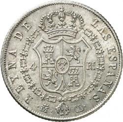 Монета > 4реала, 1837-1849 - Іспанія  - reverse