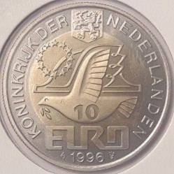 Moneta > 10euro, 1996 - Paesi Bassi  (Willem Barentsz) - reverse