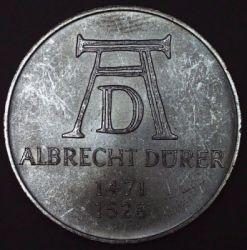 Moneda > 5marcos, 1971 - Alemania  (500º Aniversario - Nacimiento de Albrecht Dürer) - obverse