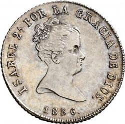 Moneta > 2reale, 1836 - Hiszpania  - obverse