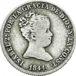 Moneta > 1real, 1837-1852 - Hiszpania  - obverse
