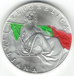 Монета > 5евро, 2018 - Италия  (70th Anniversary - Constitution of the Italian Republic) - reverse