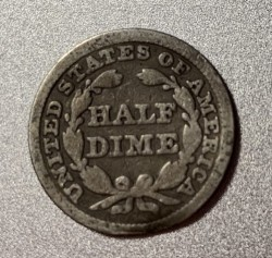 Moneda > ½dime, 1838-1853 - Estados Unidos  (Seated Liberty Half Dime) - obverse